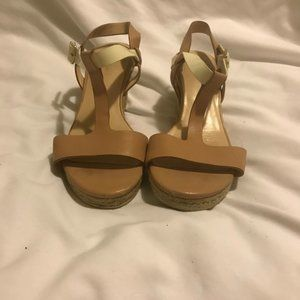 Cole Haan T-Strap Wedges
